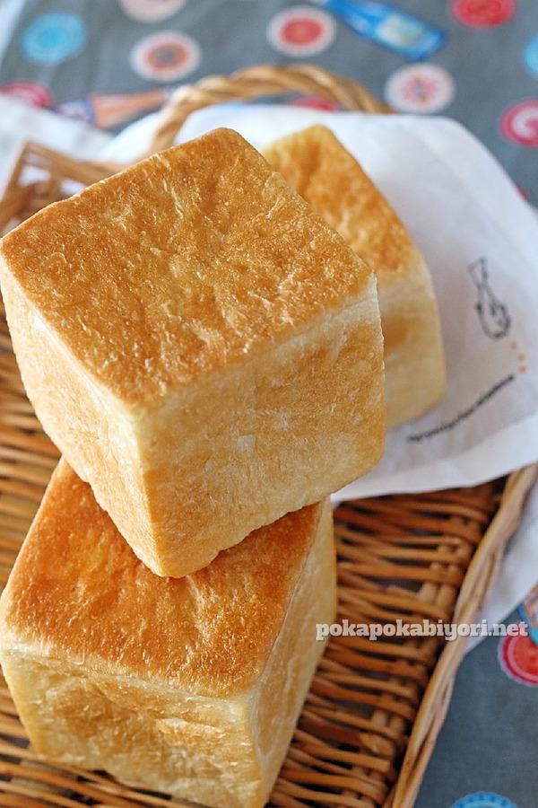米油で作るふんわりキューブパン