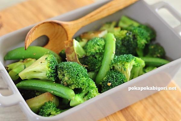 クミン香るブロッコリー蒸し焼き|クリスマス献立の野菜おかず