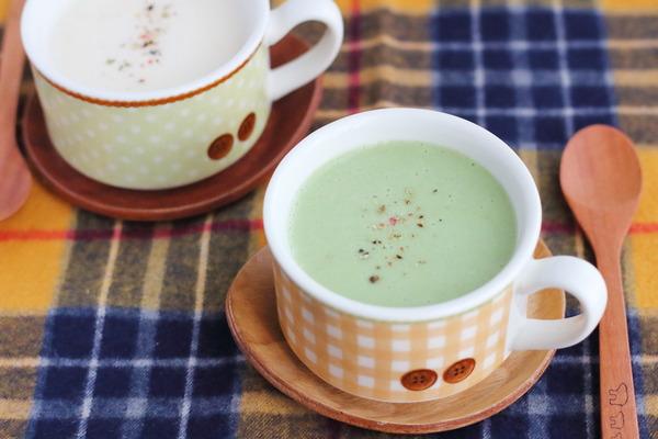 電子レンジで作る【簡単ポタージュ】レシピ|モリンガ青汁を足して栄養UP作戦