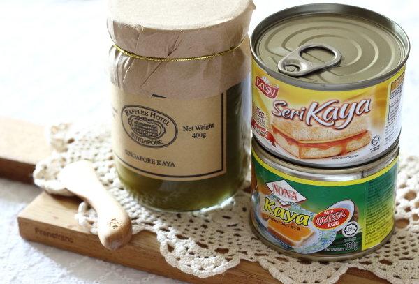 シンガポールのローカルフード、カヤトースト。カヤジャム食べ比べと、レシピ