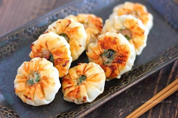 生姜や大葉の風味が夏にぴったり!しそ餃子レシピ