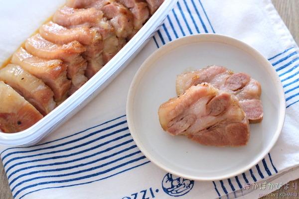 電子レンジで作る味豚(加熱6分)/お弁当にも晩御飯にもおつまみにも◎