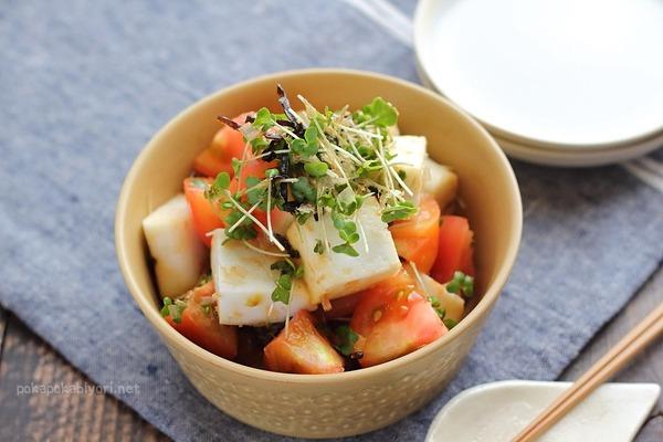 毎日でも食べたい!塩昆布トマト|火を使わない簡単おかず