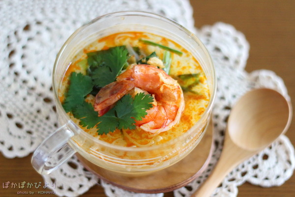 3分で作れるマグカップトムヤムクン &新しい調味料(トムヤムクン味)の感想