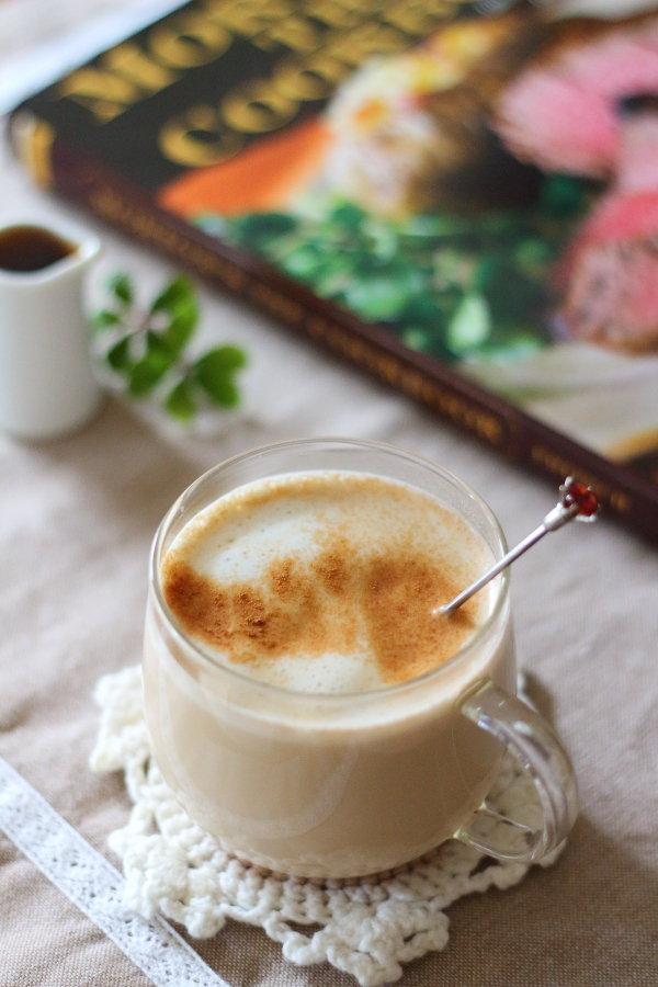 手作りコーヒーリキュールで【カルーアチャイ】