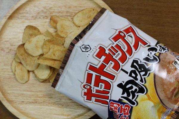 新発売のポテトチップス「肉吸い」味(関西限定)|肉吸いの鍋風レシピ