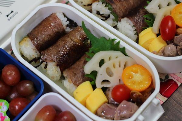 弁当記録|肉巻き・砂肝コンフィ簡単レシピ付き