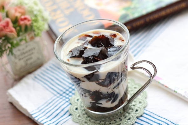 豆乳入りのコーヒーゼリー/キッコーマン豆乳を活用したレシピの紹介