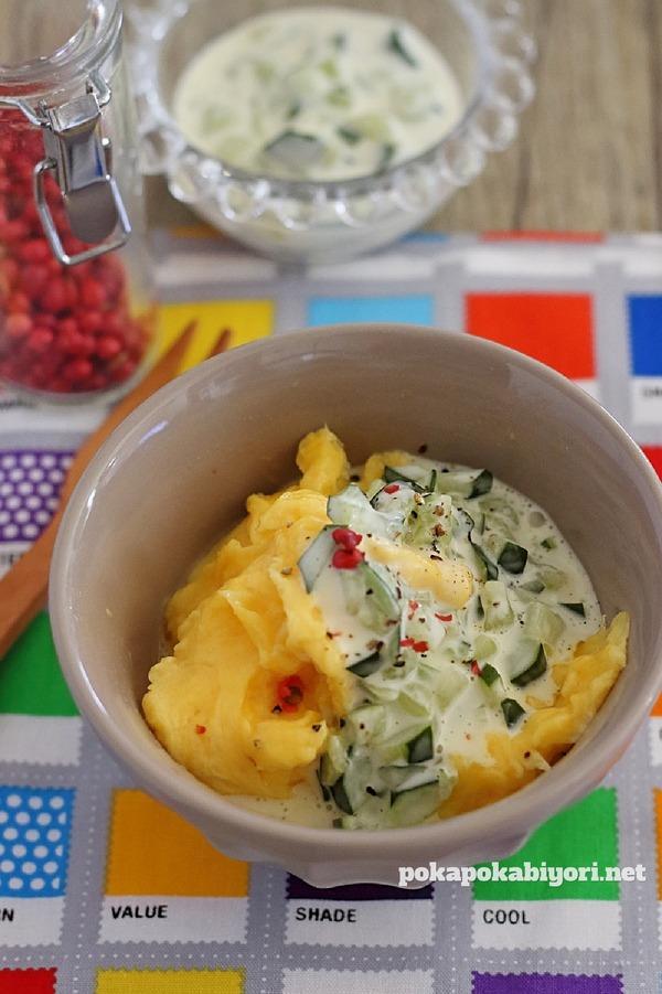 卵の甘酢マヨ和え