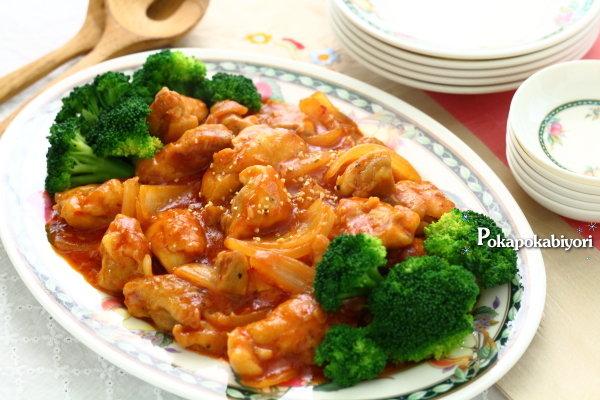 10分で完成!甘辛くてご飯がすすみすぎる【鶏のチリソース炒め】レシピ