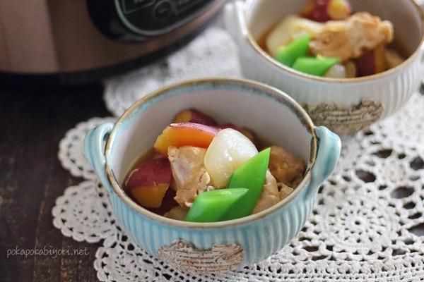 忙しい人向けレシピ【鶏肉とさつまいものお酢煮】