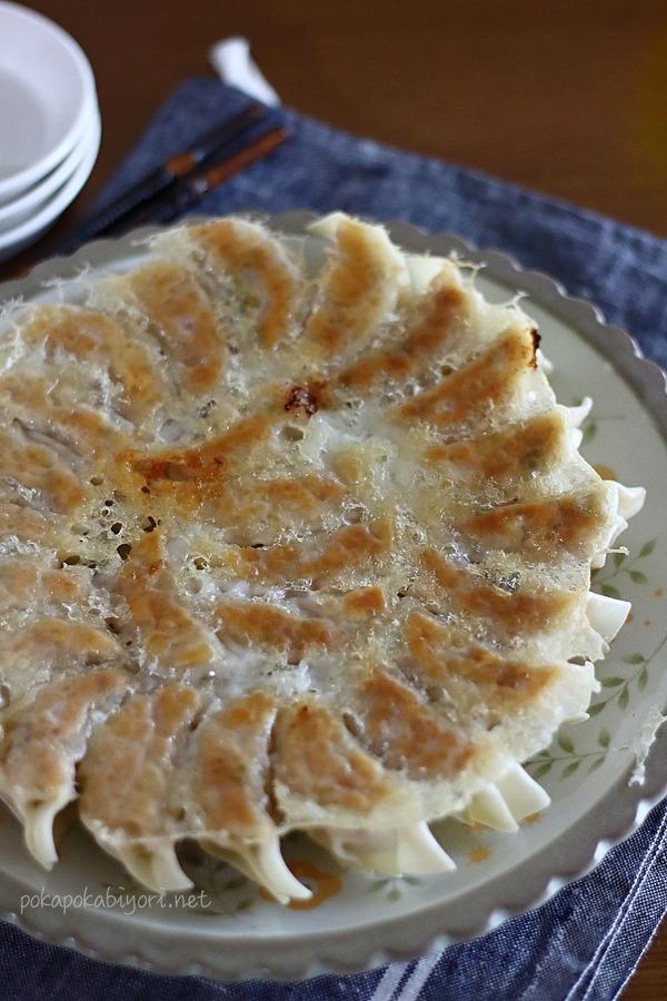 ワンダーシェフのララミー(フライパン)で作る大葉餃子レシピ
