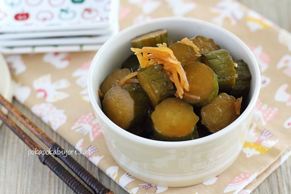 めんつゆで簡単に作る【キューちゃん風漬物】レシピ|献立写真付き