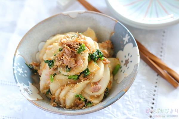 野菜が絶品おかずに!【ツナぽん和え】のレシピと作り方のコツ