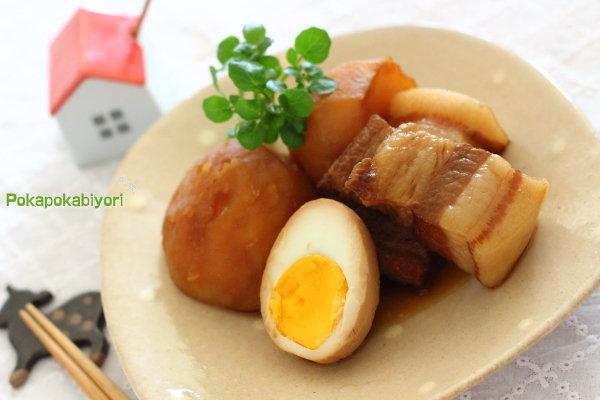 絶品!じゃがいもと豚の角煮~セリアのエッグタイマーを使ってみました~