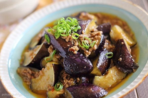合い挽き肉で作る麻婆茄子|醤油ベースでシンプルな味わい