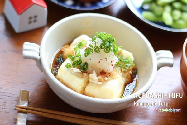 揚げだし豆腐をカリッと美味しく作るコツ