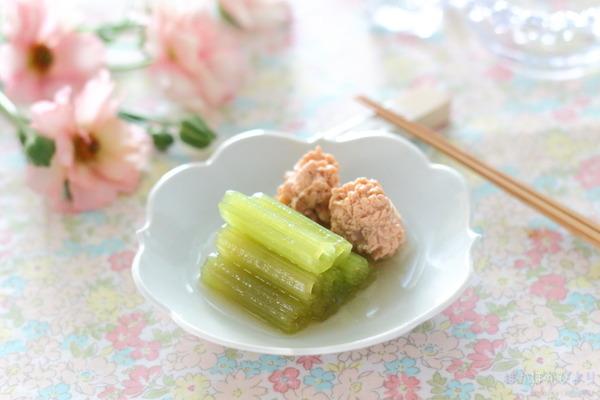 ふきと魚の子の炊き合わせ(下ごしらえ写真多)/植えた夏野菜たち