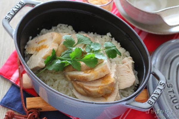 本格的!絶品チキンライス(海南鶏飯)レシピ