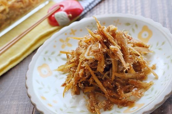 ゴボウのおかか醤油炒め|うま味を数倍にも高めることができる組み合わせについて(UMAMI_STAR#PR)