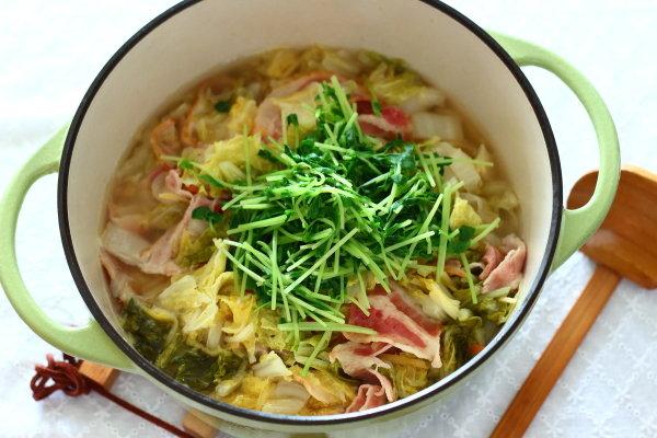 バーミキュラ、無水調理で作るお野菜た~っぷりスープ