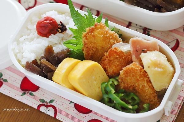 今日の作りおき弁当【チキンカツ】|レシピはジャーマンポテト