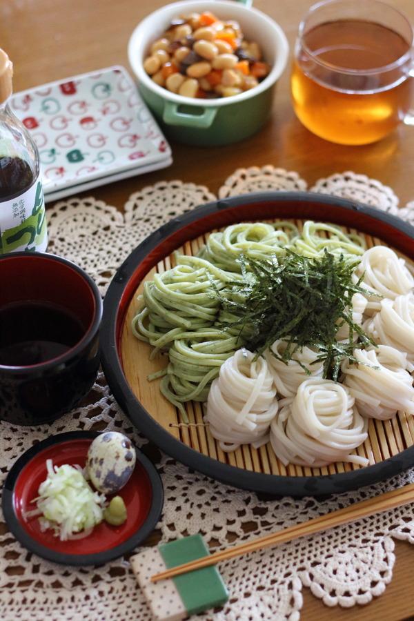 もち麦うどん&安藝簾ランチ/休みの日の過ごし方