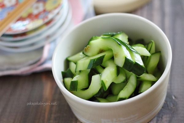 きゅうりの即席柚子胡椒和え|手作り柚子胡椒リンク付き