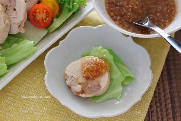 自分史上最高に美味!茹で鶏+万能生姜たれ|シンガポールのジンジャーチキン風