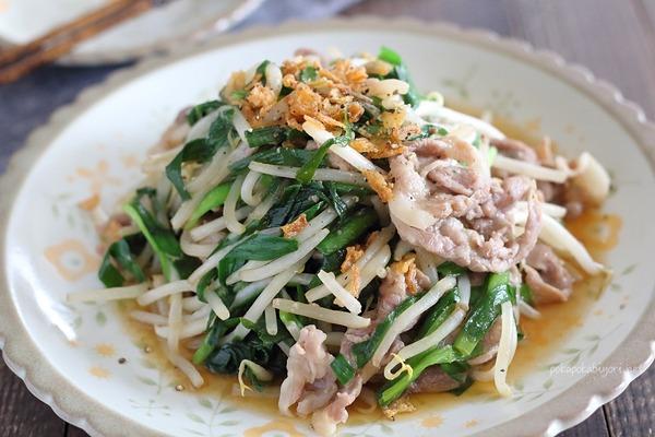 レンジで作るニラ炒め|ビタミンAたっぷりの宮崎県産にら使用