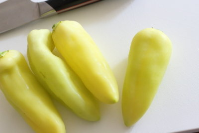 【バナナピーマン使用】5分で作れる副菜/お薦めの水出しボトル