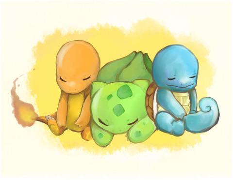 【ポケモンGO】ポケモンの御三家ってやっぱり初代が一番良いよなwwwwwwwwwww