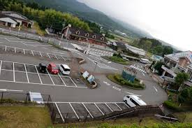 道の駅駐車場