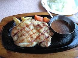チキンステーキ1