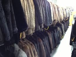 毛皮のコート