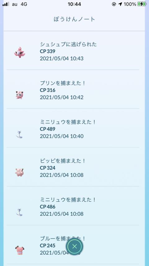 フェアリーX新ポケ慌2