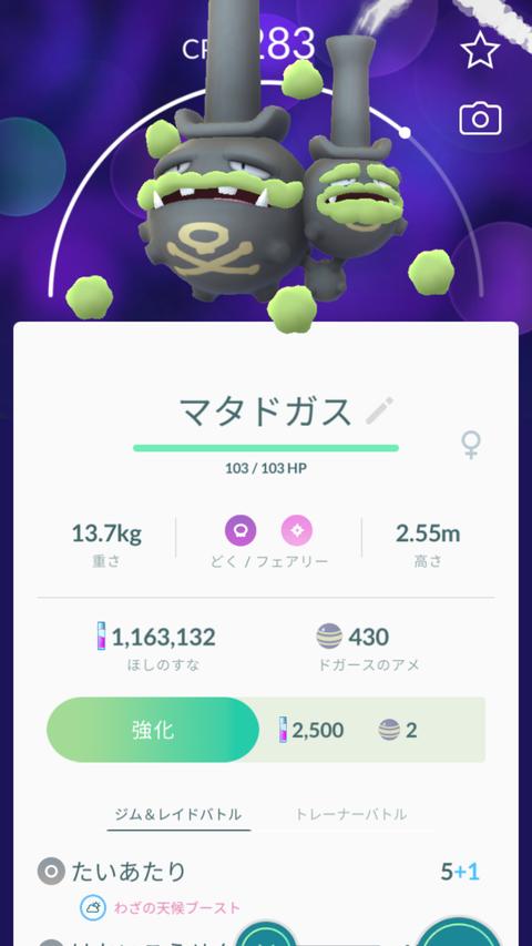 剣盾ドガス色図鑑1