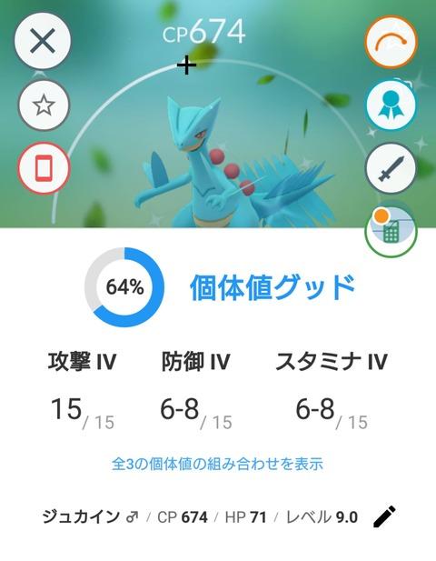 キモリday厳選4