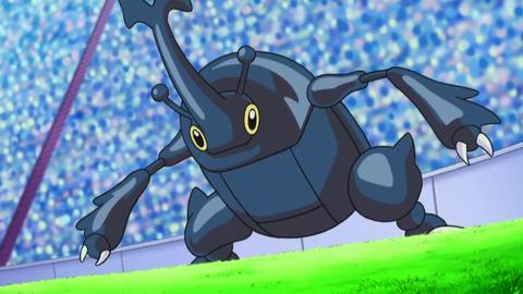 ポケモンアニメでヘラクロスがフシギダネの蜜チューチュー吸うシーン