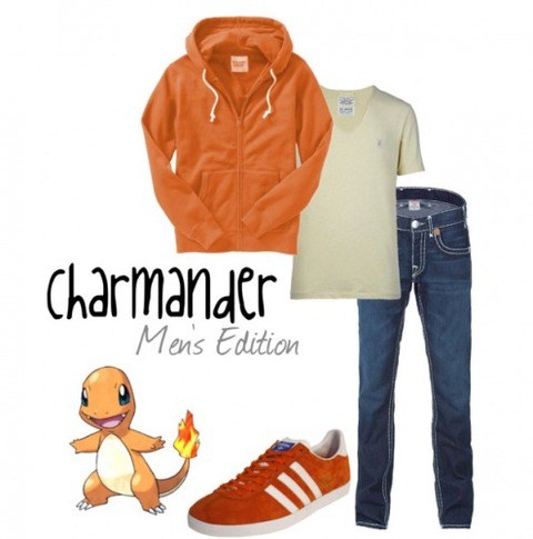 s_charmander for men   Polyvore