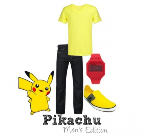 s_Pikachu Male   Polyvore