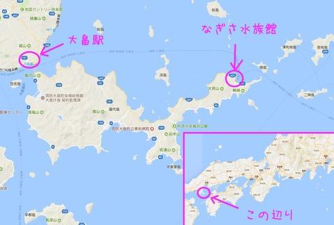 なぎさ水族館map