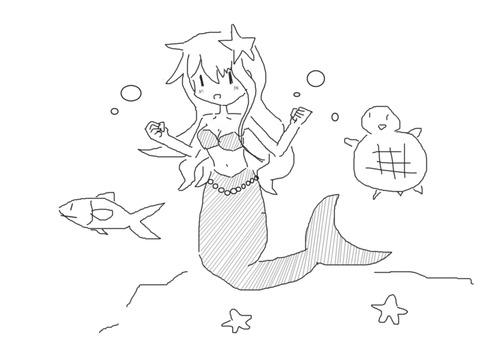 人魚ショー