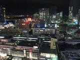 ホテルからの横浜の夜景