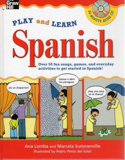 Play and Learn Spanish Hayashi