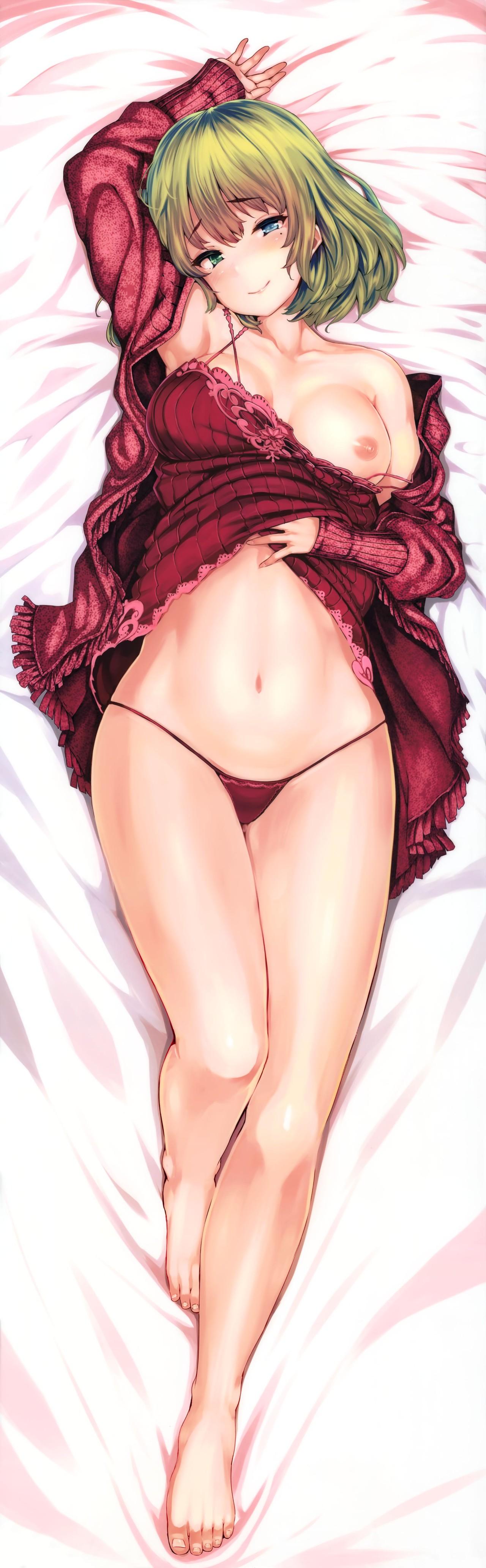 服から片乳露出 女一人  -コミック -人外291