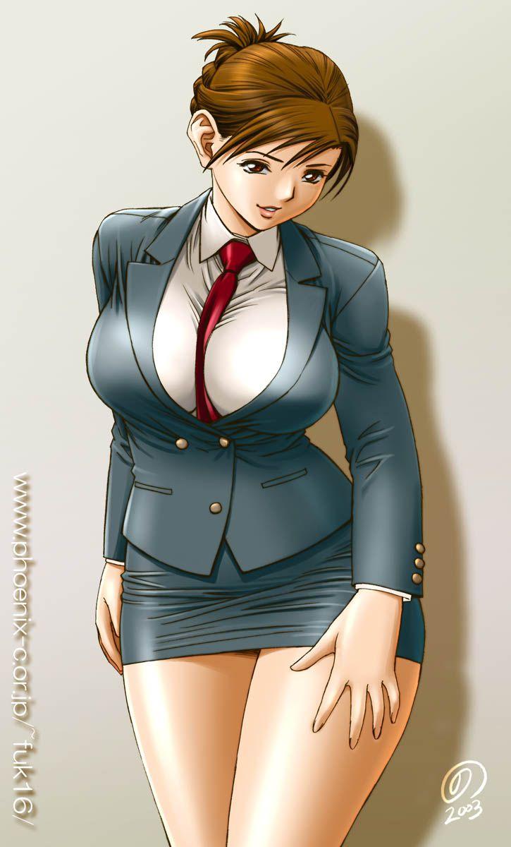 スカートスーツ 女一人 -コミック -アニメーション313