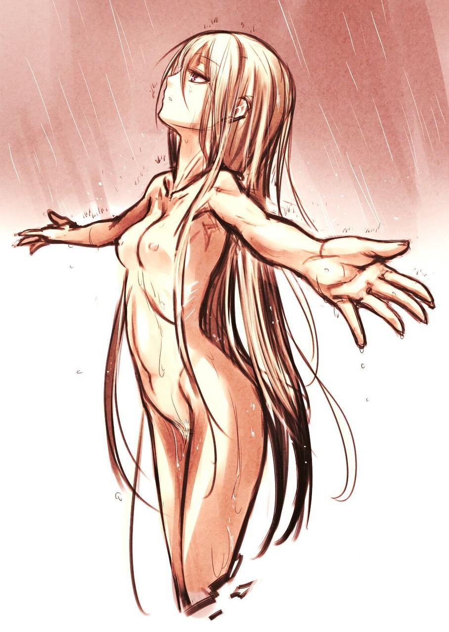rain nude083