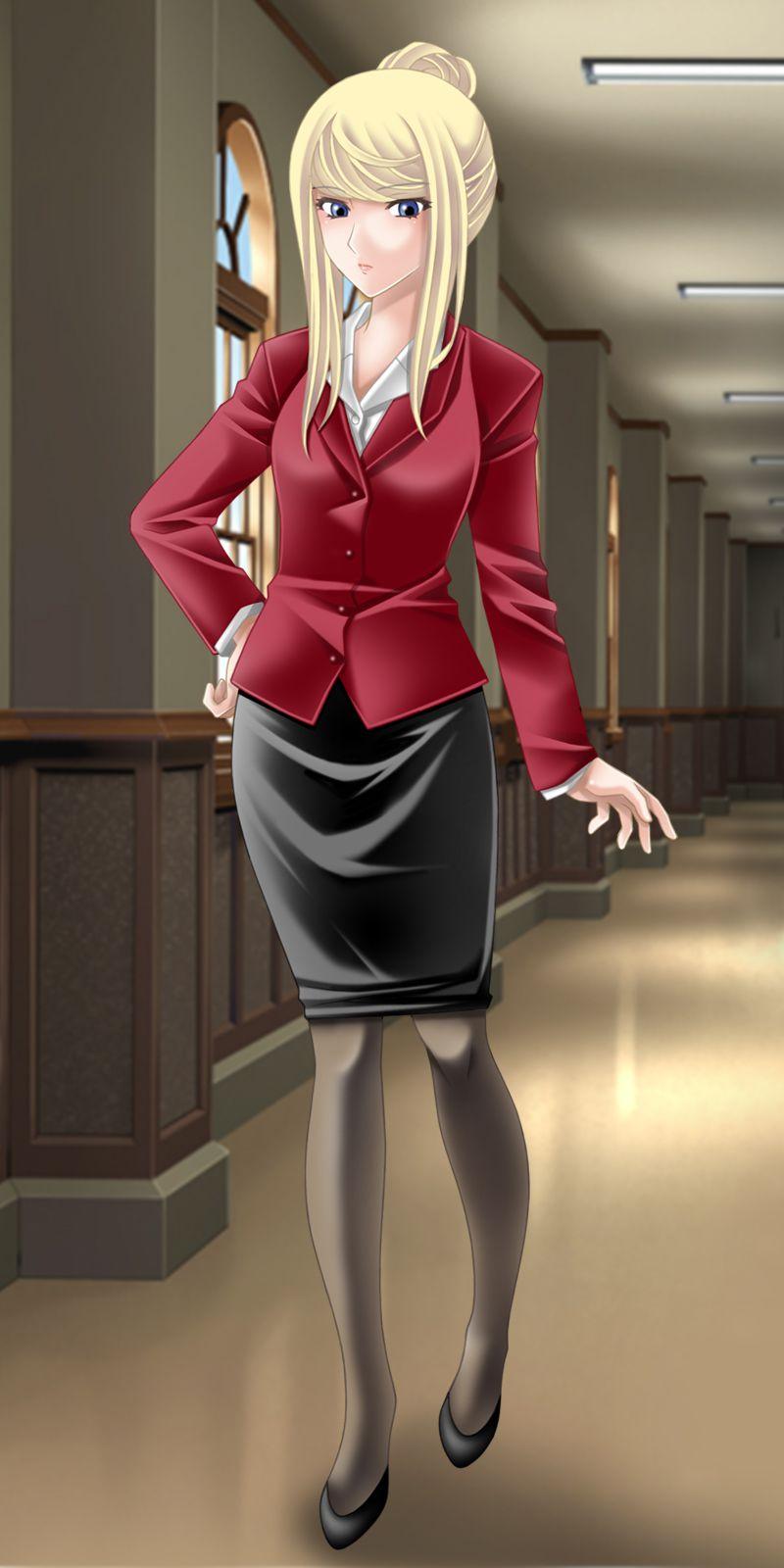 スカートスーツ 女一人 -コミック -アニメーション055