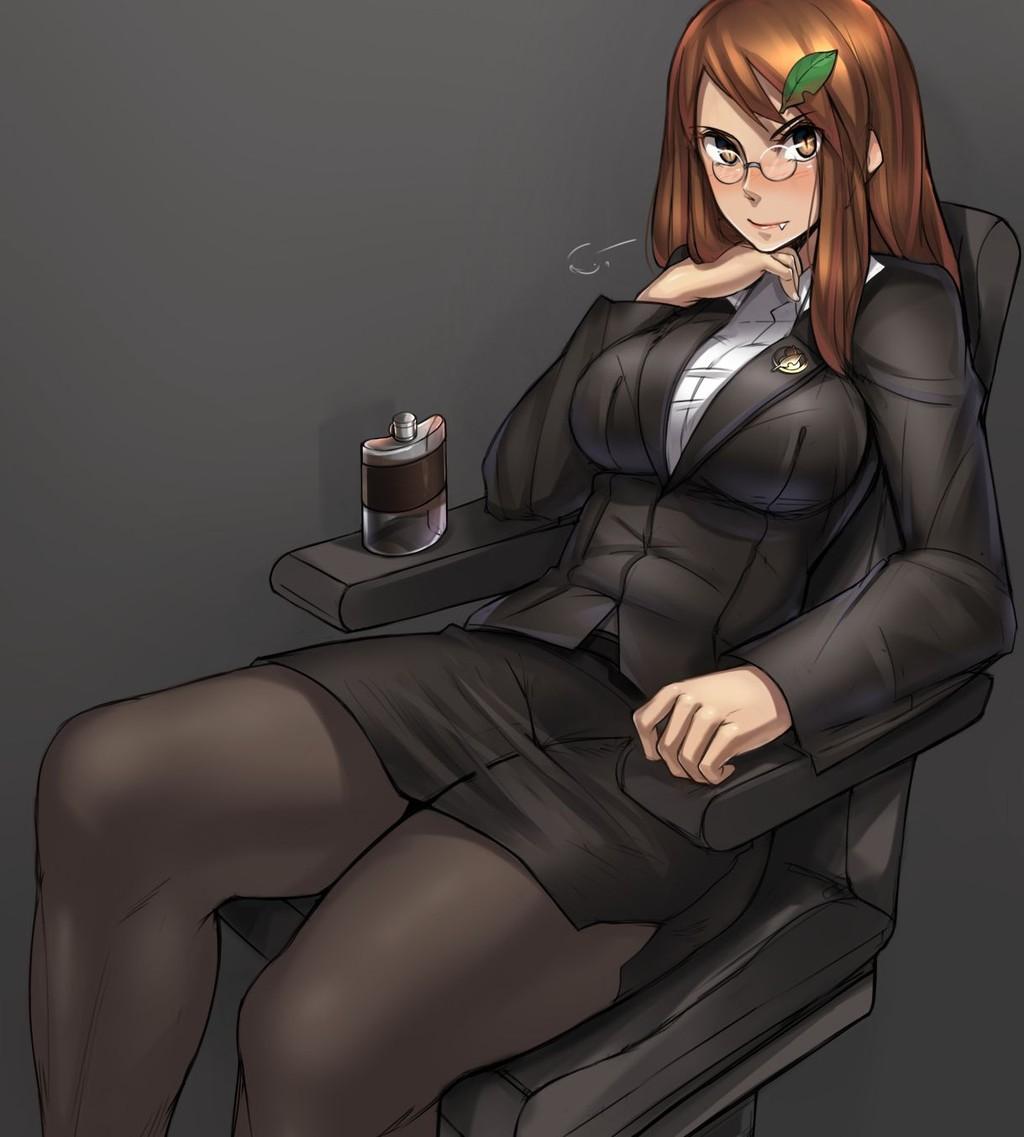 スカートスーツ 女一人 -コミック -アニメーション073